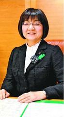 徳島県議会で女性初の副議長・岡田理絵さん