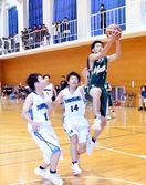 全国高校バスケット徳島県予選 男子、つるぎなど2回…