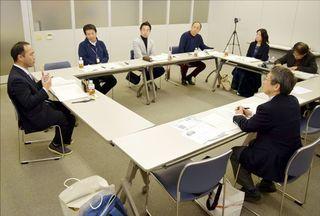 平和学習の実践例報告 教諭ら本社で研究会