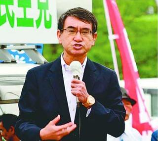 消費者庁拠点「徳島オフィスは成功」 河野元担当相徳島市で演説