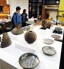 徳島の窯元5軒が都内で展示会 「大谷焼」の魅力発信