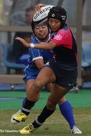 【写真特集②】徳島、茨城に敗れる 国体ラグビー女子…