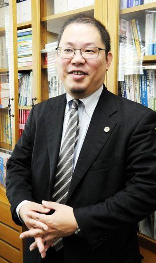 徳島弁護士会会長に就いた 堀井秀知(ほりいひでとも)さん
