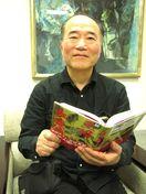 三好市出身の作家三日木人さん 三好長慶像を小説に