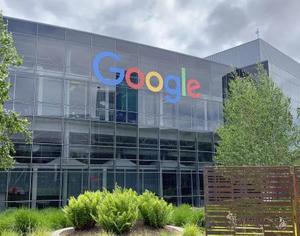 米グーグルの本社=2019年5月、カリフォルニア州マウンテンビュー(共同)