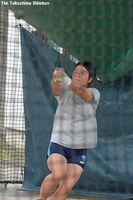 自己ベスト更新とメダル獲得を目標にデフリンピックに挑む村尾選手=徳島市の生光学園