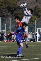 サッカー 第74回徳島県高校新人大会最終日 徳島科…