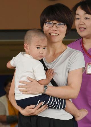 保護の2歳男児が退院、山口