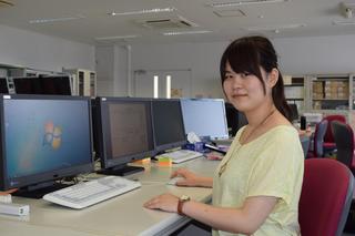 全国若者ものづくり大会 漆原さん(板野出身)第1席 ITネットワーク部門 機器設定で高得点
