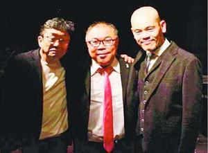 THE EROS。(左から)加藤雅史さん、後藤浩二さん、江藤良人さん
