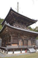国重要文化財に指定されている「切幡寺大塔」=阿波市市場町