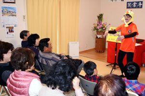 お笑い公演などが行われ、人気を集めている笑常亭=阿南市横見町