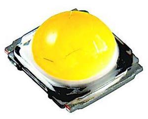 日亜が開発した除菌ができる照明用白色LED(同社提供)