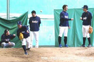 徳島インディゴがキャンプイン 2年ぶりの日本一目指し