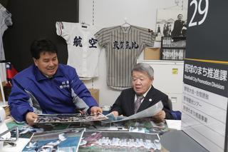 野球のまちに選抜切符を 富岡西の初出場 心待ち