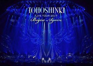 4/9付週間DVD総合ランキング1位は『東方神起 LIVE TOUR 2017 ~Begin Again~』