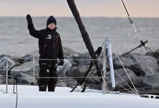 グレタさん、ヨットでスペインへ