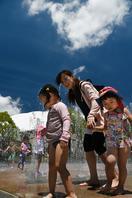 那賀38.2度、7月で最高 池田7日連続の猛暑日