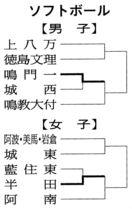 徳島県中学総体 ソフトボールの結果(2018年7月…