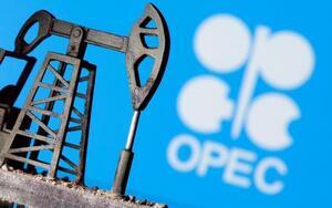 石油輸出国機構(OPEC)のロゴ(ロイター=共同)