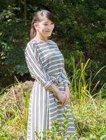 28歳の誕生日を迎えられた秋篠宮家の長女眞子さま=東京・元赤坂の赤坂御用地(宮内庁提供)