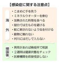 海外旅行 感染症に注意 県の対策室「帰国後も健康チェックを」