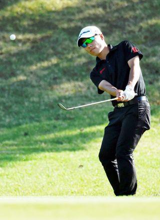 板東篤司(月の宮)2年ぶりV 徳島県アマチュアゴルフ選手権
