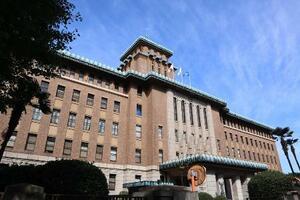 神奈川県庁=2020年10月、横浜市中区