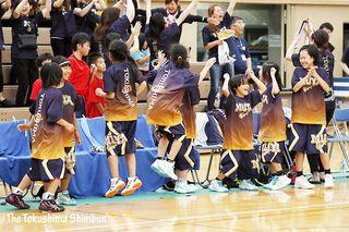 徳島県ミニバスケ 男子は藍住、女子は撫養が優勝