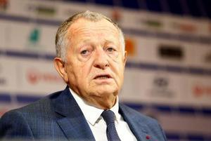 サッカーのフランス1部リーグ、リヨンのオラス会長(ロイター=共同)