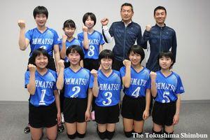 大松JVCの選手たち
