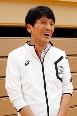 全日本バレーボール高校選手権県予選で初優勝した徳島科技高男子監督 望月彰雄(もちづきあきお)さん