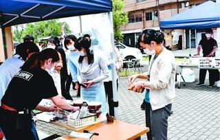 飲食店応援、県内各地でマルシェ開催 コロナ影響で売り上げ減