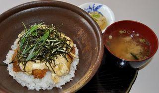 あなんハモ丼(阿南市) 産地PR地域で提供