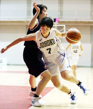 女子・城北、初戦突破ならず バスケ全国高校選手権