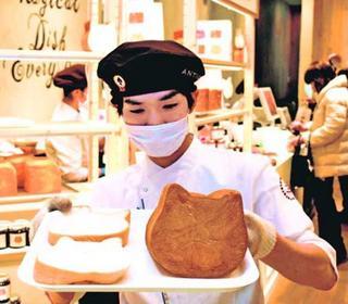 「ねこねこ食パン」イオンモール徳島にオープン