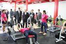 四国大にトレーニング施設