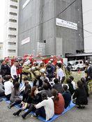 ホテル千秋閣(徳島市)でガス漏れ3人軽症 空調機の…