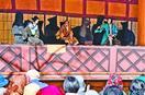 人形浄瑠璃観200人楽しむ 那賀、鎌瀬農村舞台
