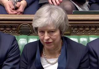 英下院、EU離脱案を大差で否決