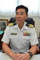 海上自衛隊徳島教育航空群司令に着任 今泉一郎(いま…