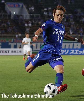 徳島ヴォルティス・島屋がJ1鳥栖に移籍 今季チーム最多得点