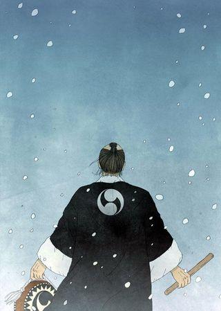 新連載小説「いとまの雪-新説忠臣蔵」 4月1日スタート