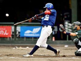 徳島対香川 徳島1回裏、2死満塁から球斗の3塁打で4―0とする=JAバンク徳島スタジアム