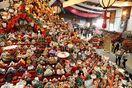 「ビッグひな祭り」開幕 人形ずらりと3万体、華やか…