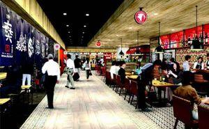4月開業予定のバルのイメージ(JR徳島駅ビル開発提供)