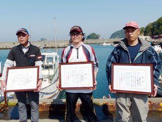 徳島県釣連盟チヌ釣り大会1回目 湯浅さん優勝 23日・小潮