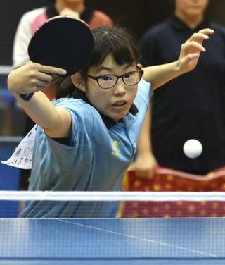 女子卓球、鳴門一が36年ぶりV 県中学総体第6日