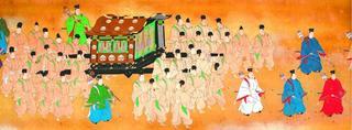 光格上皇、蜂須賀家と遠縁 県立博物館蔵の絵巻で判明