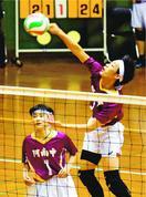 【県中学バレー】男子は阿南が初優勝、女子は富田が3…
